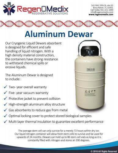 Aluminum Dewar