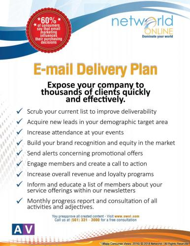 Email Delivery Plan