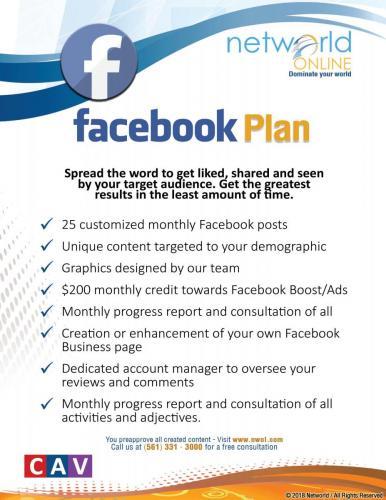Facebook Plan