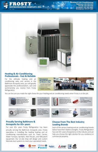 Frosty Refrigeration