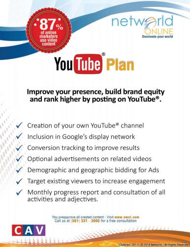 YouTube Plan